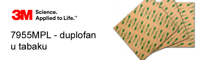 3M 7955MPL Duplofan(LEPAK) u TABAKU