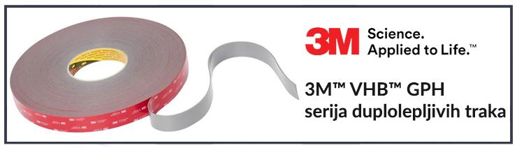3M™ VHB™ GPH serija duplolepljivih traka
